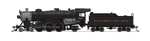 Broadway Limited 6242 N USRA 4-6-2 Light Pacific Sound and DCC Paragon3 Baltimore & Ohio 5203