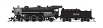 Broadway Limited 6244 N USRA 4-6-2 Light Pacific Sound and DCC Paragon3 Gulf Mobile & Ohio 560
