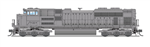 Broadway Limited 6306 N EMD SD70ACe Sound and DCC Paragon3 Undecorated