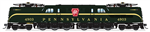 Broadway Limited 6367 HO GG1 Electric Sound and DCC Paragon3 Pennsylvania Railroad 4934