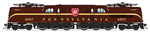 Broadway Limited 6368 HO GG1 Electric Sound and DCC Paragon3 Pennsylvania Railroad 4907