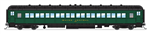 Broadway Limited 6444 HO 80' Coach 2-Pack Maine Central Set A