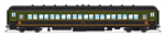 Broadway Limited 6448 HO 80' Coach 2-Pack Canadian National Set A