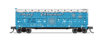 Broadway Limited Imports 6586 N PRR K7 Stock Car with Holiday Sounds Merry Christmas