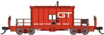 BLO24411 Bluford Shops N Caboose GTW #75059 188-24411
