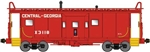 Bluford 41040 N International Car Bay Window Caboose Phase 1 Central Of Georgia X3118