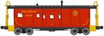 Bluford Shops 41140 N International Car Bay Window Caboose Phase 1 Southern Railway X3301