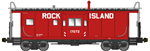 Bluford Shops 43050 N International Car Bay Window Caboose Phase 3 Rock Island 17072