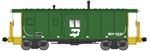 Bluford Shops 44260 N International Car Bay Window Caboose Phase 4 Burlington Northern 12610