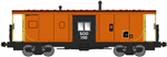 Bluford Shops 44270 N International Car Bay Window Caboose Phase 4 Soo Line 150