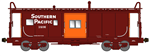 Bluford Shops 44280 N International Car Bay Window Caboose Phase 4 Southern Pacific 1406