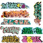 Blair Line 2248 HO Graffiti Decals Mega Set Set #5 pkg 8 184-2248