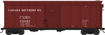 Bowser 42467 HO 40' Single-Door Steel Boxcar Canada Southern 138120