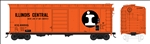 Bowser 42721 HO 40' Single Door Boxcar Illinois Central Gulf #400475