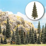 Busch 6477 Trees Pine with Roots Includes 8 Each 60 90 110 mm 12 of 75 mm and 4 of 135 mm