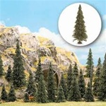 "Busch 6577 N Trees Conifers Pines w/Roots Set 1 to 2-3/16"" Tall"