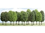Busch 6586 N Deciduous Trees Assorted 189-6586