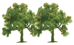 "Busch 6628 Trees Deciduous Apple 1-3/4"" 4.5cm Tall 189-6628"
