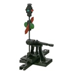 Caboose Industries 103R HO High Level Switch Stand w/Targets Rigid