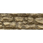 Chooch 8254 Flexible Random Stone Wall w/Self-Adhesive Backing Large Stones