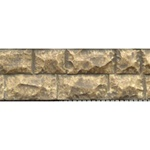 Chooch 8264 Flexible Cut Stone Wall w/Self-Adhesive Backing Large Stones
