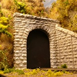 CHO8340 Chooch Enterprises HO Cut stone tunnel portal 214-8340