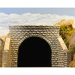 CHO8350 Chooch Enterprises HO Dbl cut stone tnl portal 214-8350