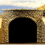 Chooch 9770 N Double Track Random Stone Tunnel Portal Pkg 2