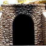 Chooch 9940 O Single-Track Cut Stone Tunnel Portal