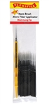 Creations Unlimited N934002B Long Tip Nano Brush Bulk Pack Contains 100 Nano Brushes & 1 Applicator Handle