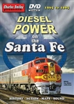 Charley Smiley 117 Diesel Power on the Santa Fe 1965-1985 DVD 1 Hour 31 Minutes