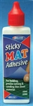 Deluxe Materials AD80 Sticky Mat Adhesive For Holding Precise Cutting & Sanding of Thin Sheet Material