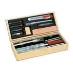 EXL44286 Excel Hobby Blades Corp. Deluxe Knife Set,Boxed