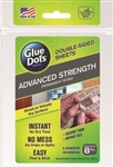 Glue Dots 37030 Glue Dots Advanced-Strength Permanent-Bond Double-Sided Sheets Pkg 5