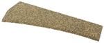 Itty Bitty 1603 O Cork Roadbed Precut Switch Pad For Atlas Left Hand Medium Radius Turnout