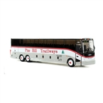 Iconic Replicas 870130 HO VanHool CX-45 Motorcoach Bus Assembled Pine Hill Trailways