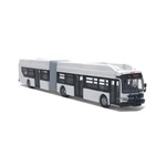 Iconic Replicas 870195 HO New Flyer Xcelsior CNG Articulated Transit Bus Assembled Painted, Unlettered