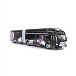 Iconic Replicas 870202 HO New Flyer Xcelsior XN60 Articulated Bus Assembled Lafayette, Indiana