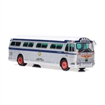 Iconic Replicas 870205 HO 1958 GM PD4104 Bus Assembled Public Service Coordinated Transport