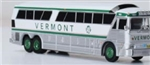 Iconic Replicas 870256 HO 1970 MCI MC-7 Bus Assembled Vermont Transit Lines