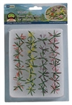 "JTT 95549 O Flower Plants 1/4"" Height Pkg 30"