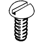 "Kadee 1708 2-56 Stainless Steel Screws 2-56 x 3/8"" Pkg 12"