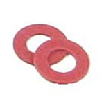 "Kadee 208 Insulating Fiber Washers Pkg 48 .015"" Thick"