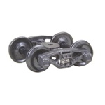 "Kadee 500 HO Bettendorf 50-Ton Fully Sprung Metal Trucks Code 110 33"" Smooth-Back RP-25 Wheels 1 Pair"
