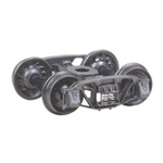 "Kadee 509 HO 1898 Andrews Fully Sprung Metal Trucks Code 110 33"" Ribbed-Back RP-25 Wheels 1 Pair"