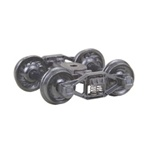 "Kadee 511 HO Bettendorf T-Section Fully Sprung Metal Trucks Code 110 33"" Ribbed-Back RP-25 Wheels 1 Pair"