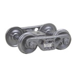 "Kadee 513 HO A.S.F. 100-Ton Roller Bearing Fully Sprung Metal Trucks Code 110 36"" Smooth-Back RP-25 Wheels 1 Pair"