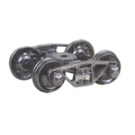 "Kadee 515 HO Vulcan Double Truss Fully Sprung Metal Trucks Code 110 33"" Ribbed-Back RP-25 Wheels 1 Pair"