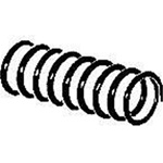 KAD845 Kadee Quality Products O Knuckle spring coiled 12/ 380-845