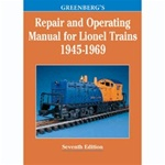 KAL108160 Kalmbach Publishing Co GB Repair/Operating Lionel '45-69